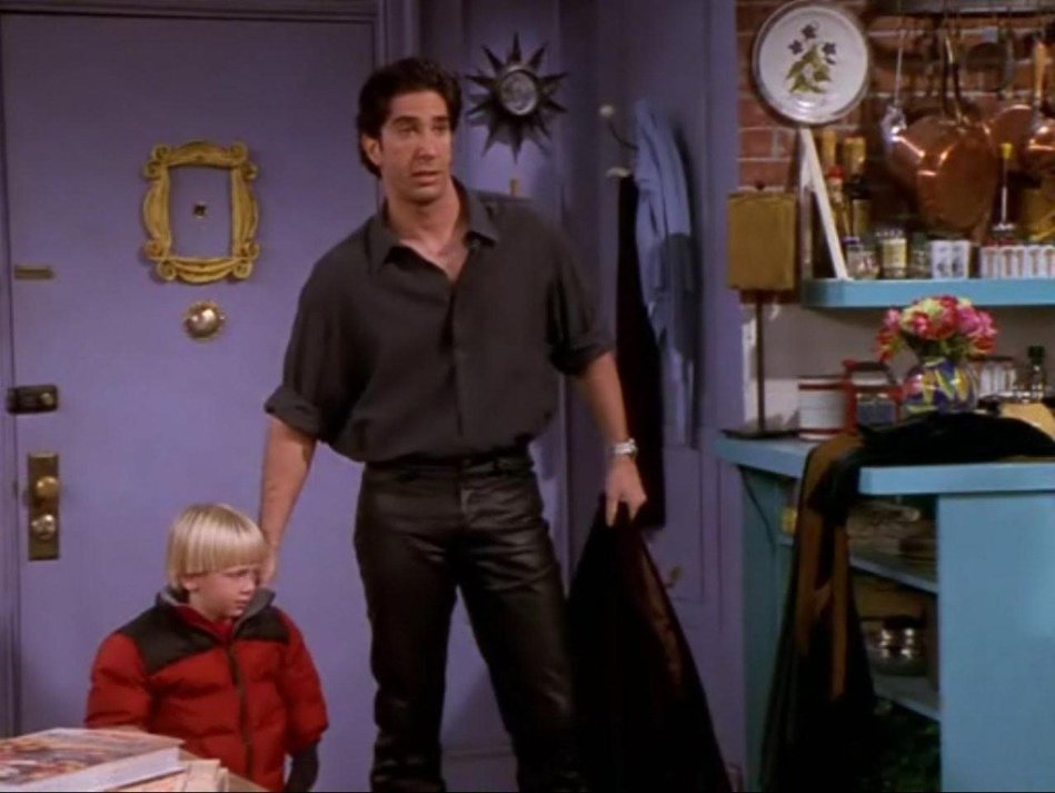 Time-Ross-Wore-Leather-Pants-Friends